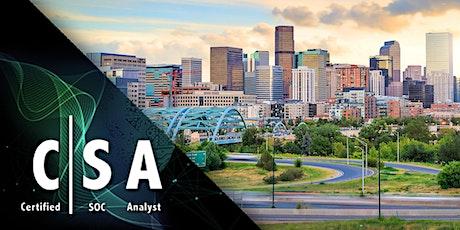 EC Council  SOC Analyst (ECSA) Masterclass – Denver, CO tickets
