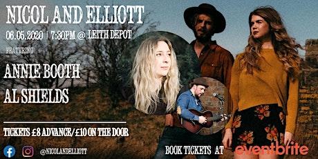 NICOL & ELLIOTT + Annie Booth and Al Shields tickets