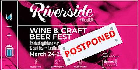 Riverside Wine & Craft Beer Fest tickets