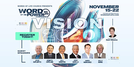 Word of His Power Conference!  Free!! tickets