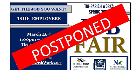 Tri-Parish Works Spring 2020 Job Fair - POSTPONED tickets