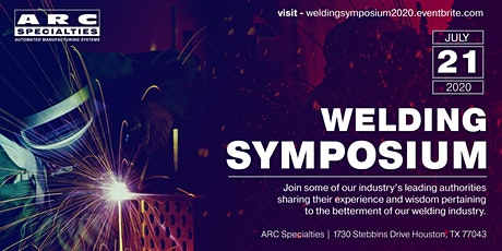 ARC Specialties: Welding Symposium tickets