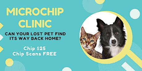 $25 Pet Microchipping at the Family Pet Expo tickets