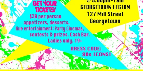 Ladies of the 80's Nite tickets