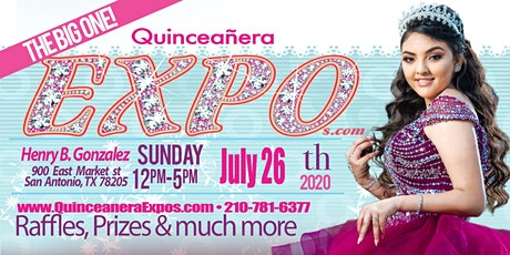Quinceanera Expo San Antonio The Big One February 14th 2021 At the Henry B. Gonzalez From 12 to 5 tickets