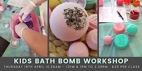 Kids Bath Bomb Workshop tickets