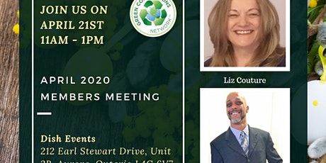 Green Connections Network April 2020 Meeting tickets