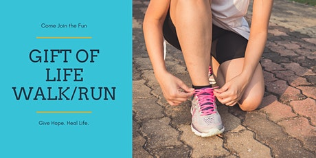 Gift of Life Walk/Run 2020 - Cancelled tickets