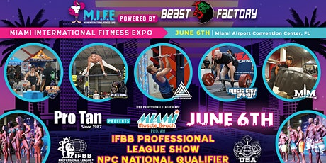 Miami International Fitness Expo (M.I.F.E) tickets