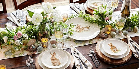 Wine and Floral Design: Easter Tablescape tickets