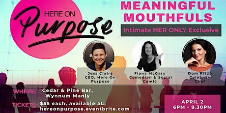 Meaningful Mouthfuls - HER Exclusive LGBTIQ+ intimate evening tickets