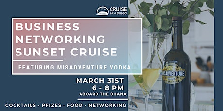 Business Networking Sunset Cruise tickets