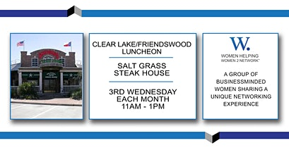 WHW2N - Clear Lake / Friendswood Luncheon tickets