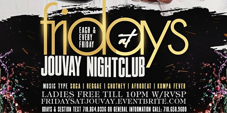 Fridays At Jouvay nightclub  BOOM tickets
