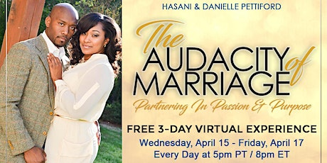 The Audacity of Marriage VIRTUAL  Live Experience tickets
