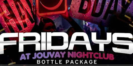 FUSION FRIDAYS AT JOUVAY HOSTED BY TEAMINNO tickets