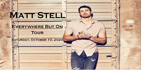 Matt Stell - Everywhere But On Tour tickets