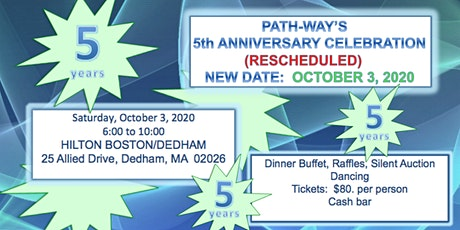 PATH-WAY's  5th Anniversary Celebration tickets