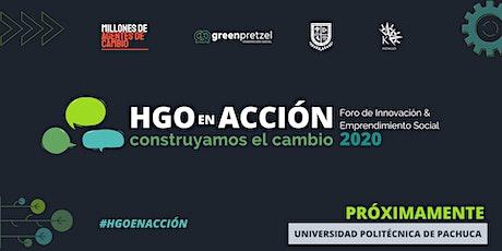 HGO en Acción: Construyamos el Cambio boletos