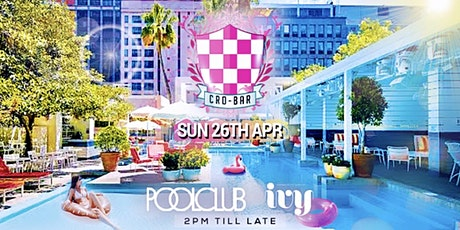 Cro-Bar @ Ivy Poolclub 2.0 (Rescheduled) tickets
