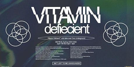 Vitamin Deficient Live @ Civic Underground tickets