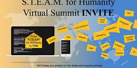 STEAM for Humanity Foundation Virtual Summit tickets