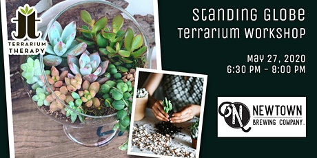 Succulent Globe Workshop at Newtown Brewing Company tickets