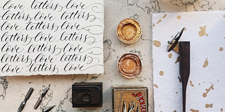 Intro to Copperplate Calligraphy Workshop - 4hrs tickets