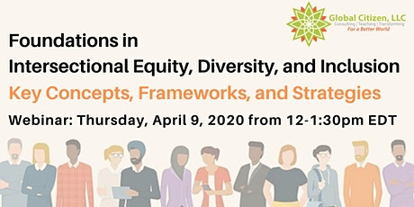 Foundations in Intersectional Equity, Diversity, and Inclusion tickets