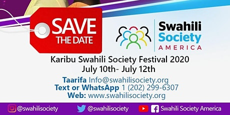 SWAHILI SOCIETY FESTIVAL 2020 tickets