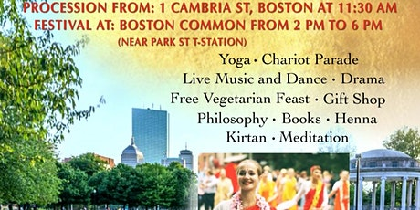 Boston's Festival Of Chariots - Ratha Yatra tickets