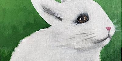 TEMPORARILY POSTPONED Kids & Grown-Ups Bunny Paint Party at Brush & Cork
