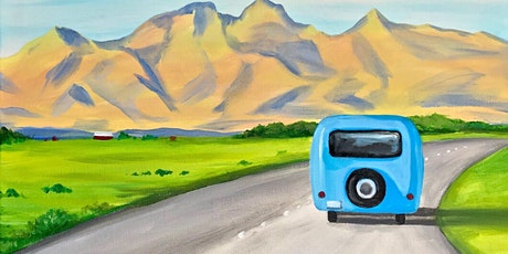 Road Trip Paint Party at Brush & Cork tickets