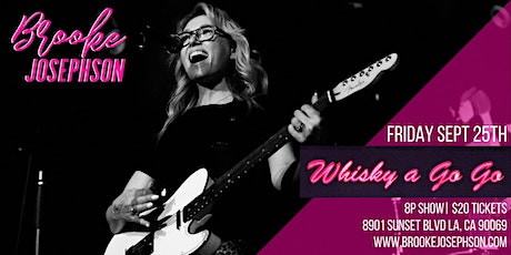 BROOKE JOSEPHSON at WHISKY A GO GO tickets