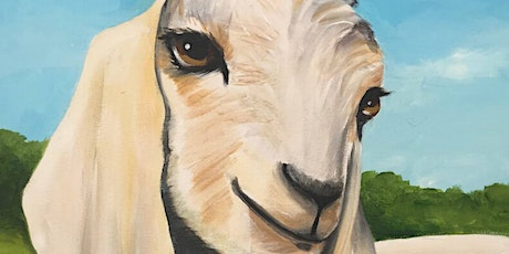 Baby Goat Paint Party at Brush & Cork tickets