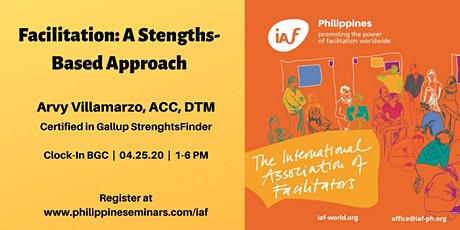Facilitation: A Strengths-Based Approach tickets