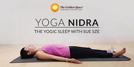 Aroma Yoga Nidra with Tibetan Sound Bowls tickets