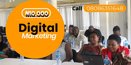 Digital Marketing Course with Certificate tickets