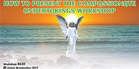 How to Present Compassionate Undertaking Lecture and Workshop – Melbourne! tickets