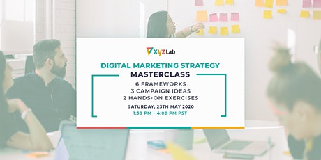 Digital Marketing Strategy Masterclass tickets