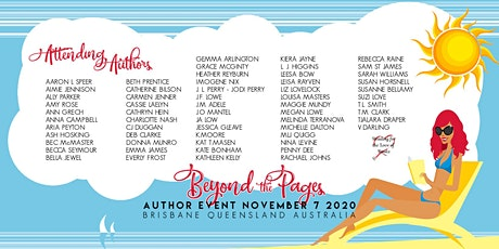 Beyond the Pages Author Event tickets