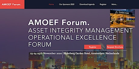 AMOEF Forum ASSET INTEGRITY MANAGEMENT  OPERATIONAL EXCELLENCE FORUM 2020 tickets