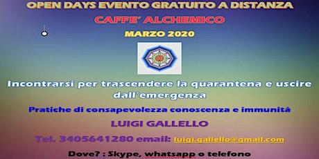 CAFFE' ALCHEMICO (evento gratuito) biglietti