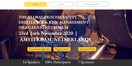 THE GLOBAL PROCESS SAFETY EXCELLENCE & RISK MANAGEMENT OIL&GAS/ENERGY FORUM tickets