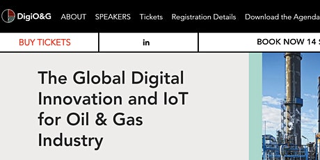 The Global Digital Innovation and IoT for Oil & Gas Industry  Amsterdam tickets