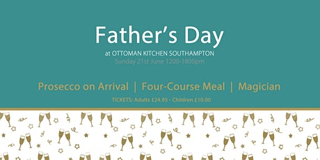 Father's Day Lunch and Entertainment Southampton tickets