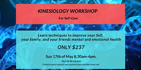 Kinesiology Workshop for Self-Care tickets