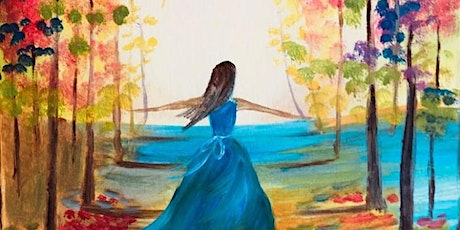 Paint Night in Sydney: Into the Light tickets