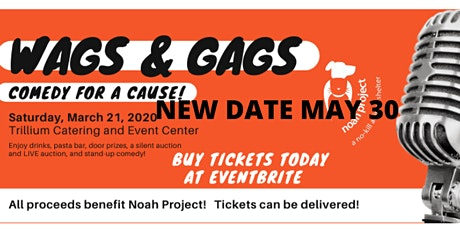 Wags and Gags - Comedy For a Cause tickets