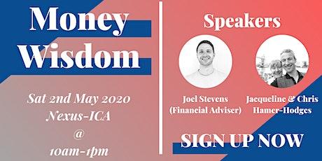 MONEY WISDOM - seminar on financial success tickets